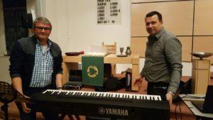 Onze nieuwe stage piano